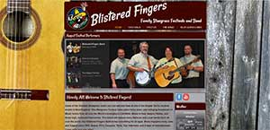 Blistered Fingers Bluegrass Family Festivals and Band