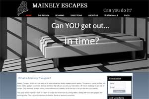 Mainely Escapes - Escape Games in Waterville, Maine